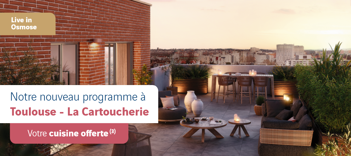 Immobiliers neufs à Toulouse